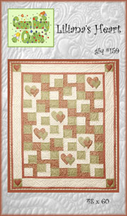 Liliana's Heart Quilt Pattern