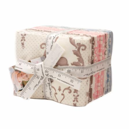 Moda Fat Quarter Bundle - Lily & Will Revisited FLANNEL by Bunny Hill Designs
