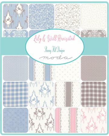 Moda Fat Quarter Bundle - Lily & Will Revisited by Bunny Hill Designs