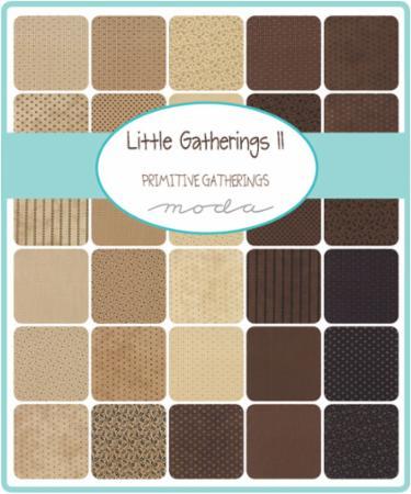 Moda Layer Cake - Little Gatherings II by Primitive Gatherings