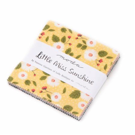 Moda Charm Pack - Little Miss Sunshine by Lella Boutique