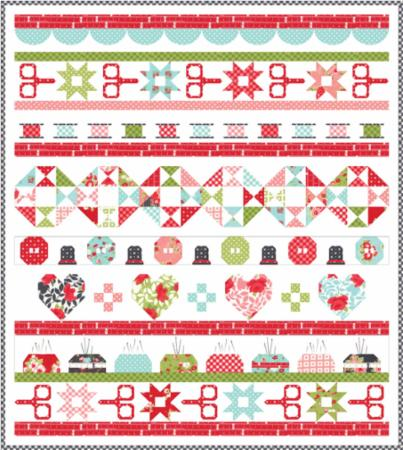 Jan/19 - Little Snippets Quilt Kit