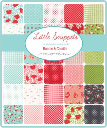 Moda Fat Quarter Bundle - Little Snippets by Bonnie & Camille