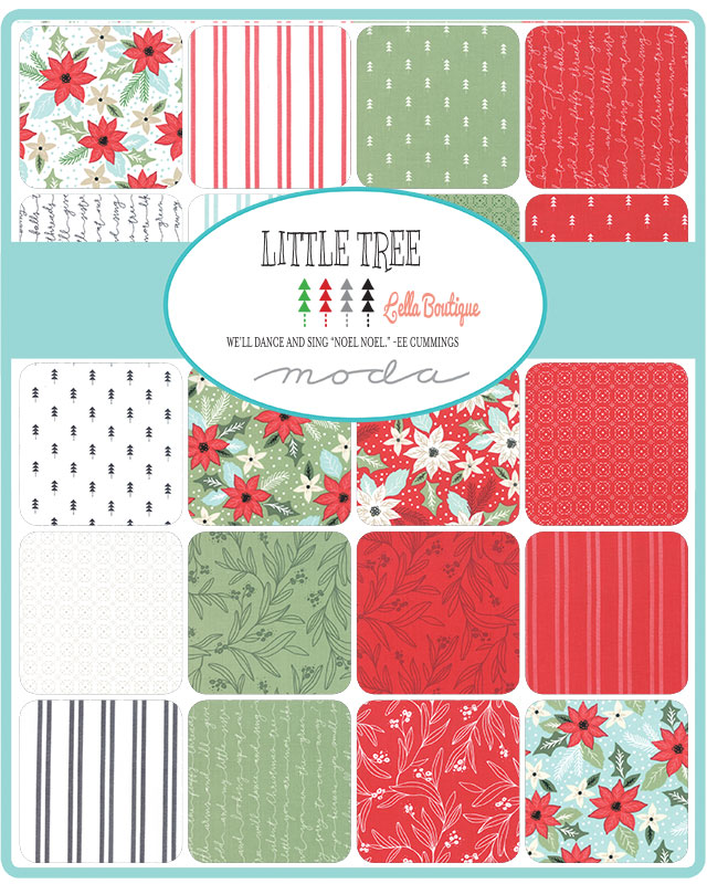 Moda Charm Pack - Little Tree by Lella Boutique