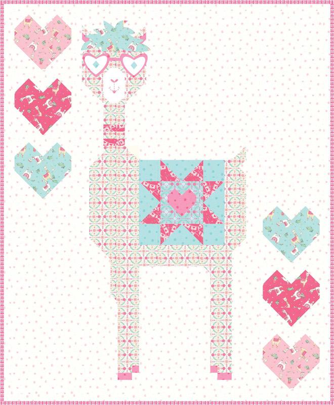 Nov/19 - Llama Love Quilt Kit