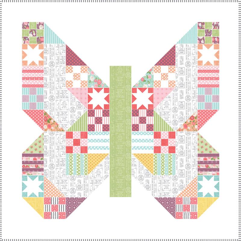 April/19 - Lollipop Garden Quilt Kit