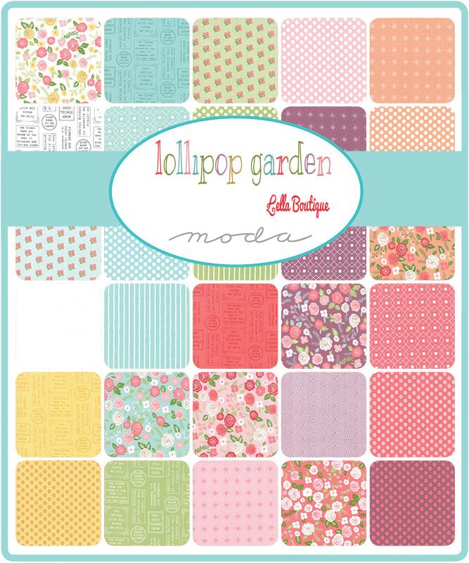 April/19 - Lollipop Garden Charm Pack