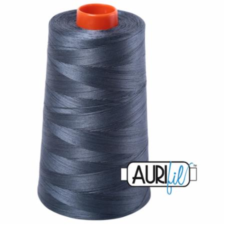 Long Arm Cotton 50wt MEDIUM GREY Aurifil 1158