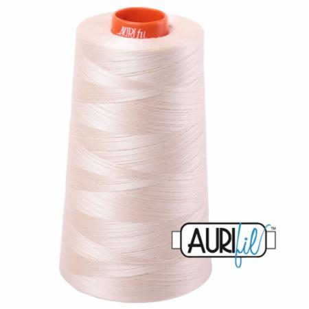 Long Arm Cotton 50wt LITE SAND Aurifil 2000