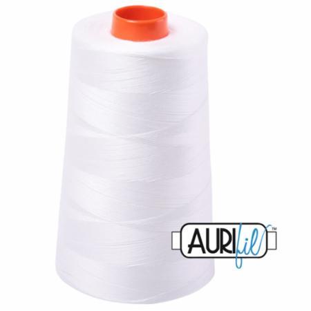 Long Arm Cotton 50wt NATURAL WHITE Aurifil 2021