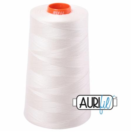 Long Arm Cotton 50wt CHALK Aurifil 2026