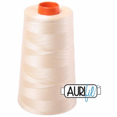 Long Arm Cotton 50wt BUTTER Aurifil 2123