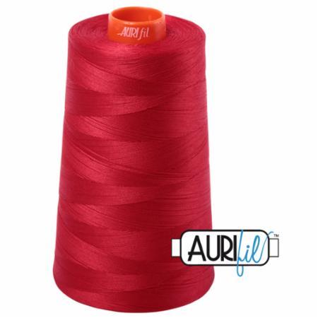 Long Arm Cotton 50wt RED Aurifil 2250