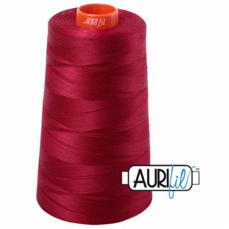 Long Arm Cotton 50wt WINE Aurifil 2260