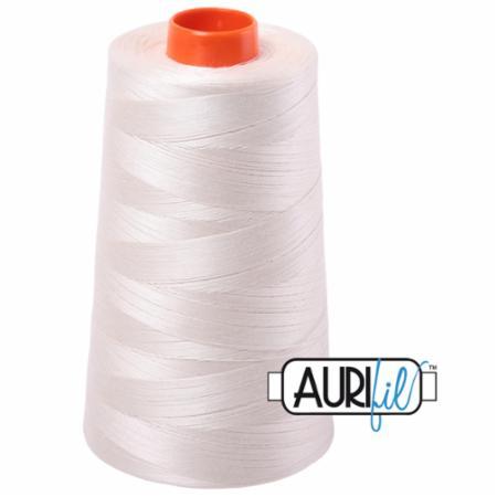 Long Arm Cotton 50wt SILVER WHITE Aurifil 2309