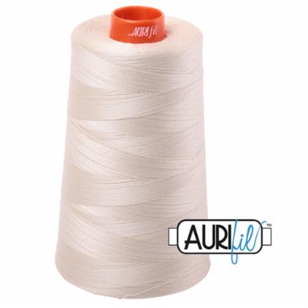 Long Arm Cotton 50wt LITE BEIGE Aurifil 2310