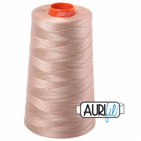 Long Arm Cotton 50wt BEIGE Aurifil 2314