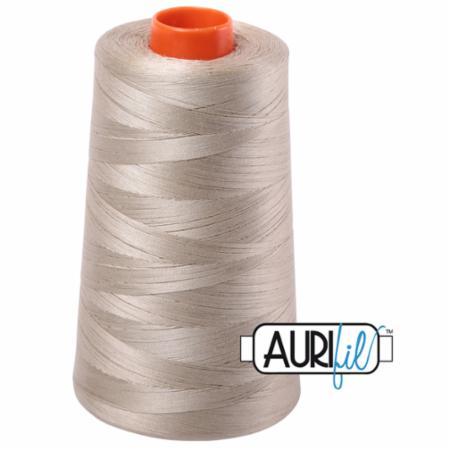 Long Arm Cotton 50wt STONE Aurifil 2324