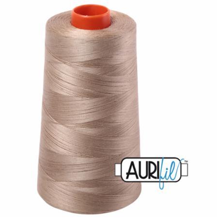 Long Arm Cotton 50wt LINEN Aurifil 2325