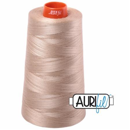 Long Arm Cotton 50wt SAND Aurifil 2326