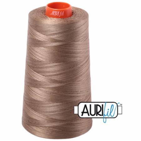 Long Arm Cotton 50wt SANDSTONE Aurifil 2370