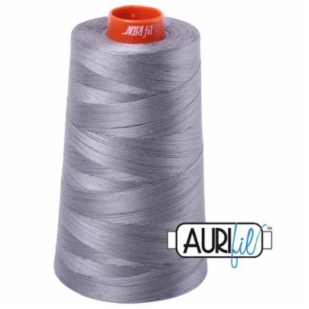 Long Arm Cotton 50wt GREY Aurifil 2605