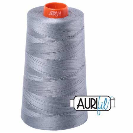 Long Arm Cotton 50wt LITE BLUE GREY Aurifil 2610