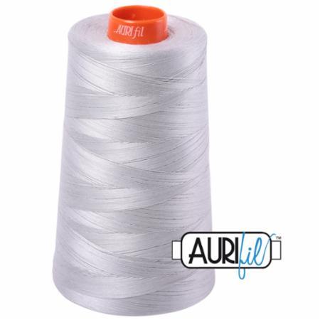 Long Arm Cotton 50wt ALUMINUM Aurifil 2615