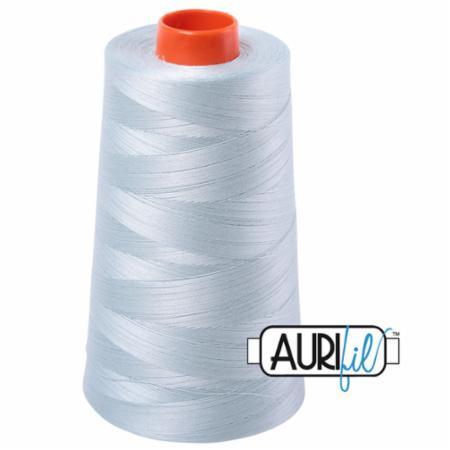 Long Arm Cotton 50wt GREY BLUE Aurifil 5007