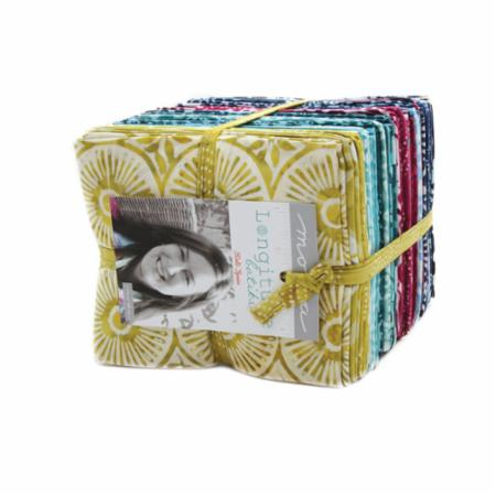 Moda Fat Quarter Bundle - Longitude Batiks by Kate Spain