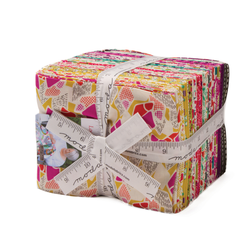 Moda Fat Quarter Bundle - Looking Forward by Jen Kingwell