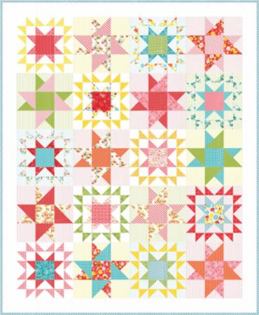 Moda Quilt Kit - Mamas Cottage by April Rosenthal