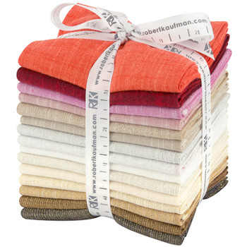 Robert Kaufman Fat Quarter Bundle - Manchester Warm Colorstory