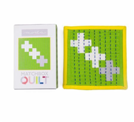 Matchbox Quilt Kit Number 8 Gray