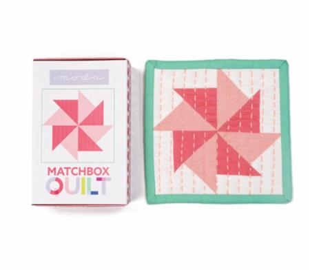 Matchbox Quilt Kit Number 4 Coral