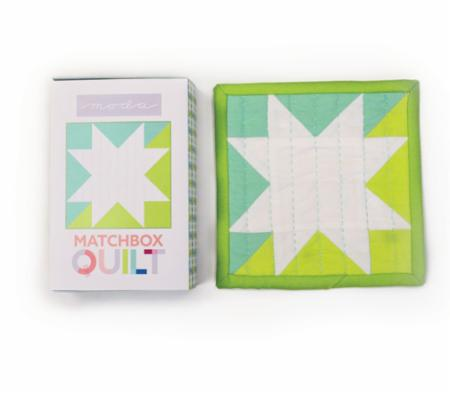 Matchbox Quilt Kit Number 1 Aqua