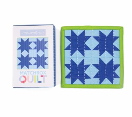 Matchbox Quilt Kit Number 7 Light Blue