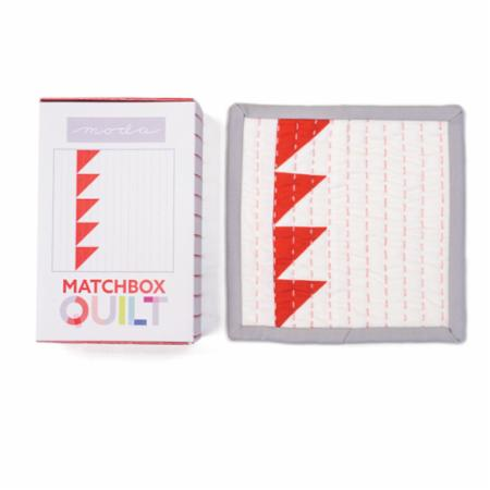 Matchbox Quilt Kit Number 6 Red