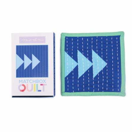 Matchbox Quilt Kit Number 3 Blue
