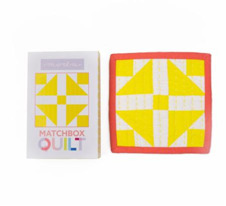 Matchbox Quilt Kit Number 2 Yellow