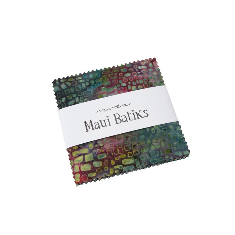 Moda Charm Pack - Maui Batiks by Moda