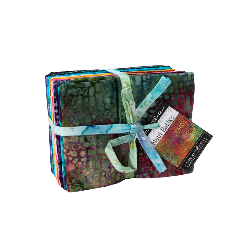 Moda Fat Quarter Bundle - Maui Batiks by Moda