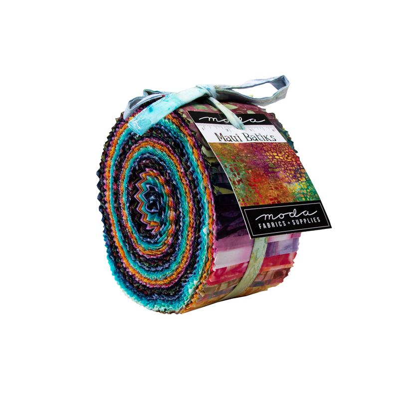 Moda Jelly Roll - Maui Batiks by Moda