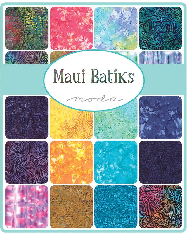 Moda Fat Quarter Bundle - Maui Batiks by Moda