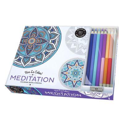 Vive Le Color! Meditation Coloring Book