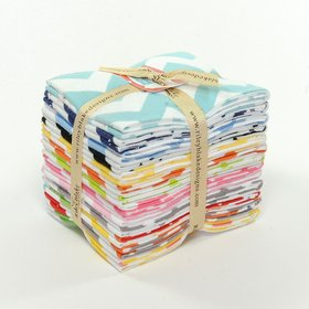 Riley Blake Fat Quarter Bundle - Medium Chevron Flannels