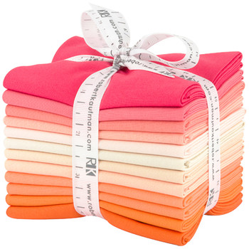 Robert Kaufman Fat Quarter Bundle - Melon Ball Palette
