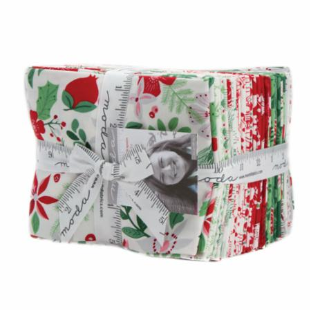 Moda Fat Quarter Bundle - Merry Merry by Kate Spain