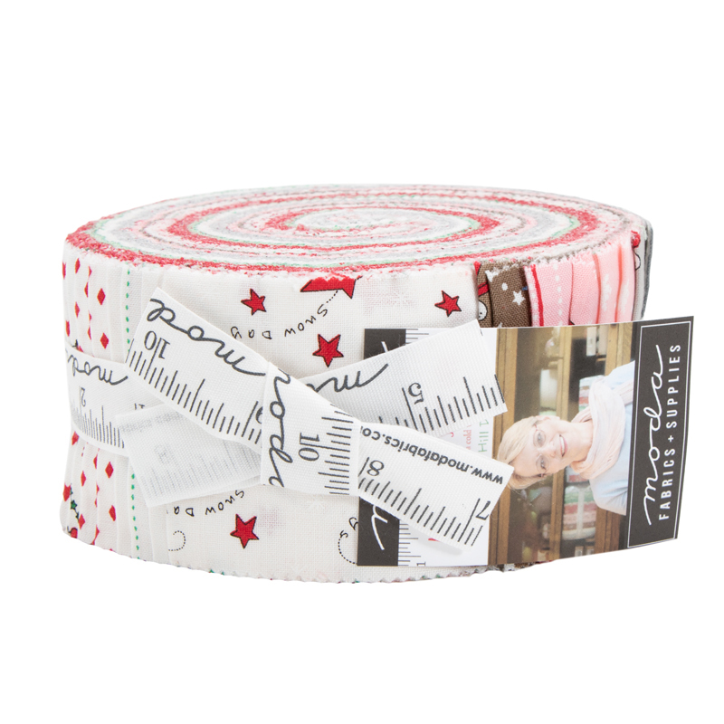 Moda Jelly Roll - Merry Merry Snow Days by Bunny Hill Designs