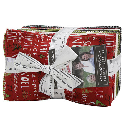 Moda Fat Eighth Bundle - Merry Starts Here by Sweetwater